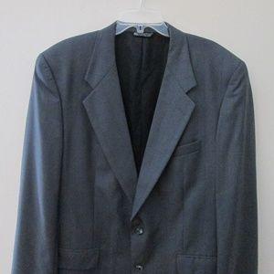 Christian Dior Mens Wool Sport Coat Blazer Sz 44L